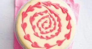 آموزش تصویری تزیین کیک به شکل رومانتیک / جدید و شیک