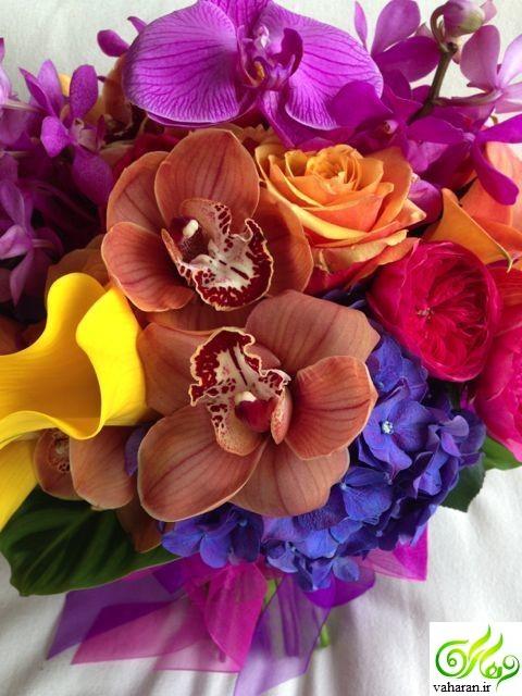 آموزش تصویری درست کردن گل با کالباس و فلفل