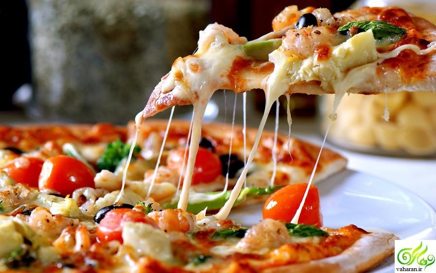 آموزش روش صحیح خوردن پیتزا / خیلی جالب