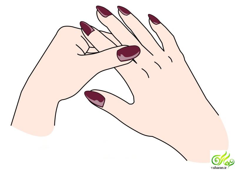 آموزش ماساژ انگشتان دست با تکنیک Jin Shin Jyutsu + تصویر