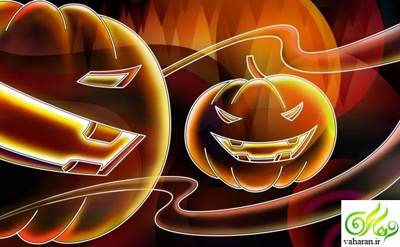 اس ام اس تبریک جشن هالووین آبان 95 + والپیپر جشن هالووین