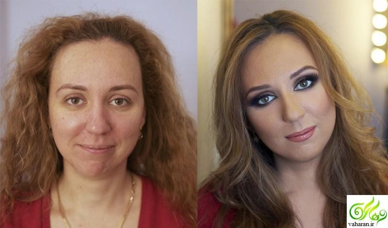 تغییراتی فوق العاده با مدل آرایش صورت 2017