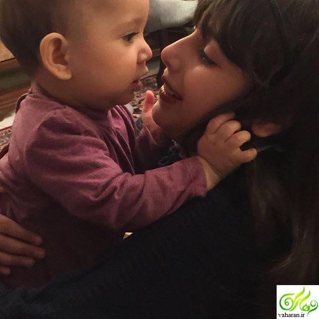 جدیدترین عکس دختر مهناز افشار لیانا