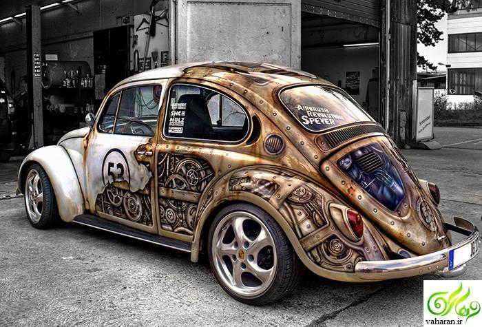 عکسهایی دیدنی از خلاقیت در تزیین خودرو