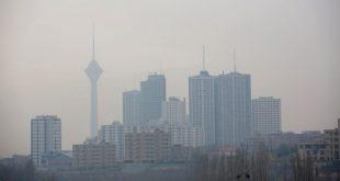 آلودگی هوا 7 آذر 95 : هوای تهران باز هم ناسالم شد