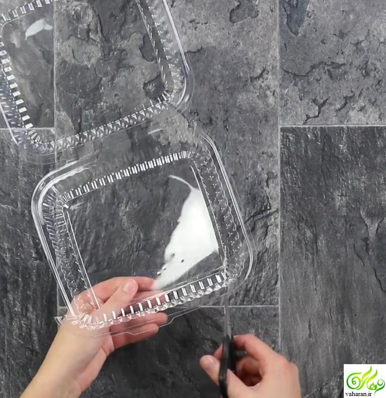آموزش ساخت دستبند فانتزی با استفاده از ظروف یکبار مصرف
