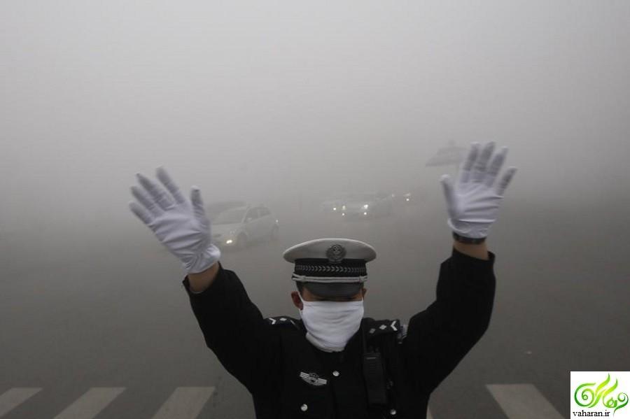 ادامه آلودگی هوای تهران تا جمعه 28 آبان 95