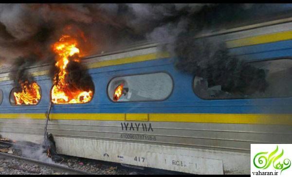 اسامی مجروحان تصادف قطار در سمنان + جزییات کامل خبر