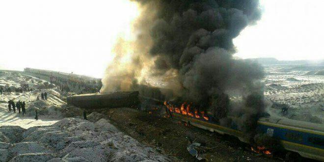 اسامی کشته شدگان تصادف قطار سمنان آذر 95
