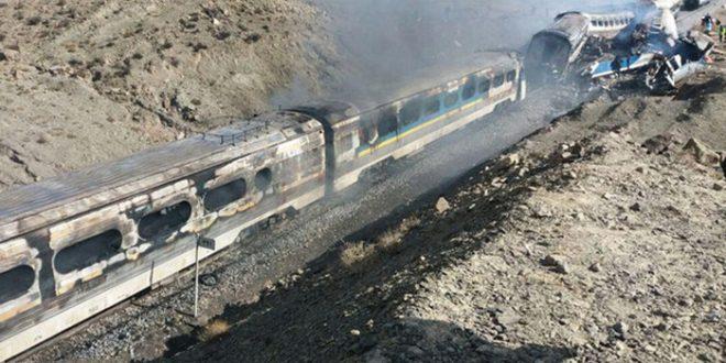 بازداشت چند تن از عوامل تصادف دو قطار در سمنان