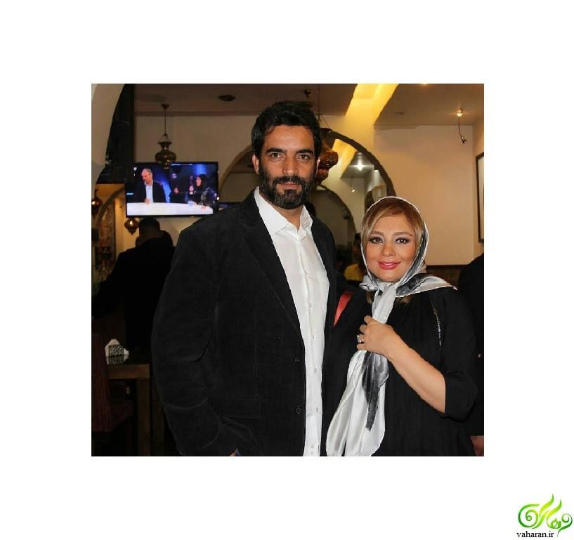 جدیدترین عکس بارداری یکتا ناصر در روزهای برفی تهران آذر ۹۵