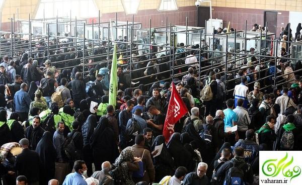اخبار کامل مرز مهران آبان 96   زمان باز شدن و بسته شدن مرز مهران 96