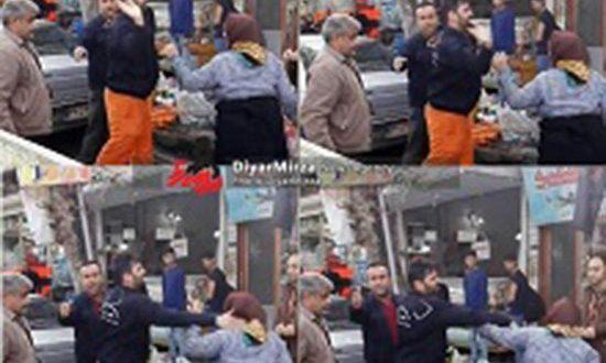 دانلود کلیپ سیلی خوردن زن دستفروش از مامور شهرداری در فومن + جزییات
