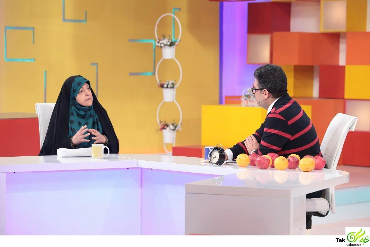 سوالات سخت و جنجالی رضا رشیدپور از معصومه ابتکار در برنامه حالا خورشید