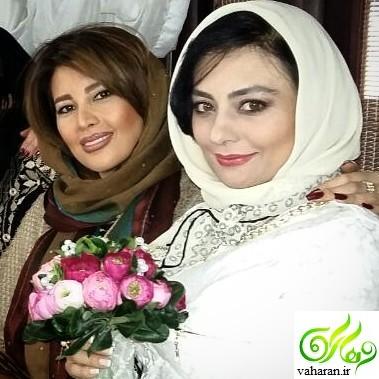 عکس باردای همزمان یکتا ناصر و خواهرش نیکتا ناصر آذر ۹۵