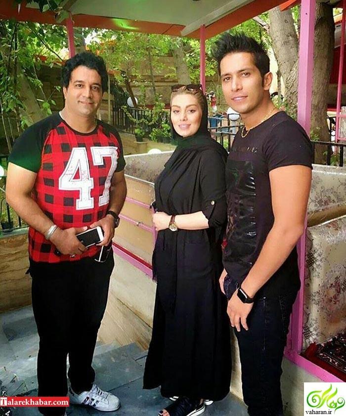 عکس جدید سحر قریشی و همسرش در کنار یک خواننده معروف