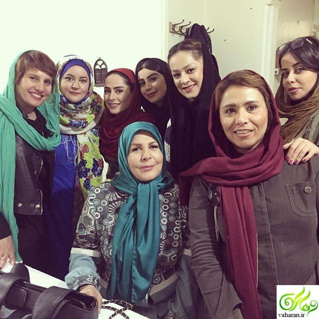 عکس دیدنی از گریم سمانه پاکدل در سریال همسایه ها + عکس های جدید و بیوگرافی