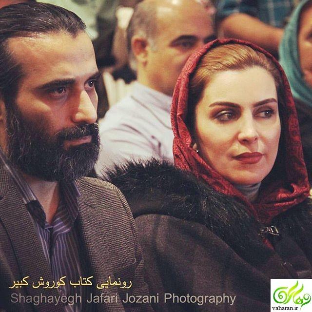 عکس دیده نشده از مراسم عروسی ماهچهره خلیلی و همسرش ابراهیم اشرفی