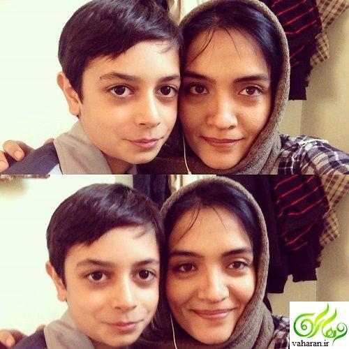 عکس های میترا حجار و همسرش سینا حجازی و پسرشان کسری