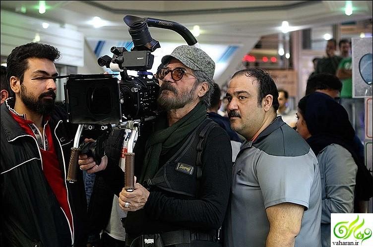 عکس های پشت صحنه سریال همسایه ها مهران غفوریان از شبکه دو سیما
