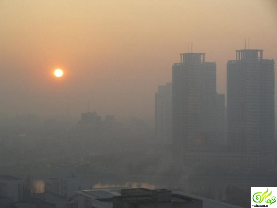 ادامه آلودگی هوای تهران تا دوشنبه 20 دی 95