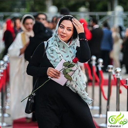 مادر شدن فقیهه سلطانی+ عکس بارداری آذر 95