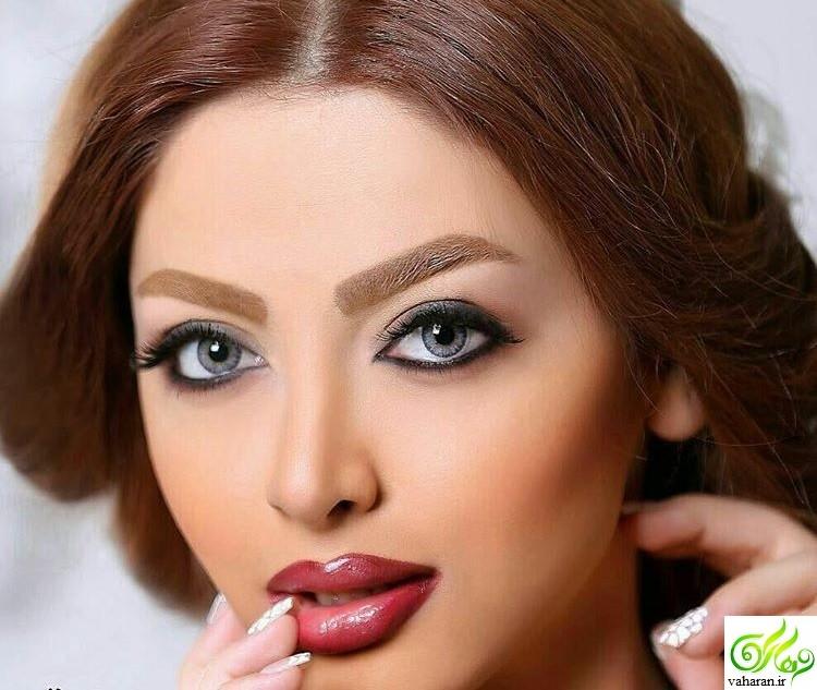 مدل آرایش صورت مخصوص شب یلدا 95