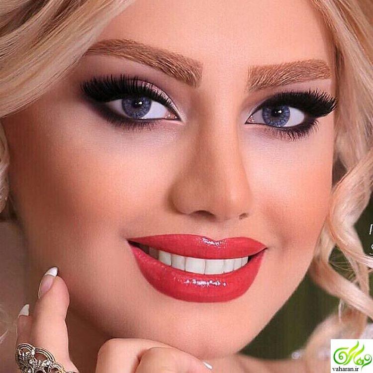 مدل آرایش صورت مخصوص شب یلدا 96