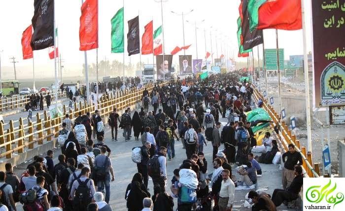 ممنوعیت ورود به مرز مهران 26 آبان 95