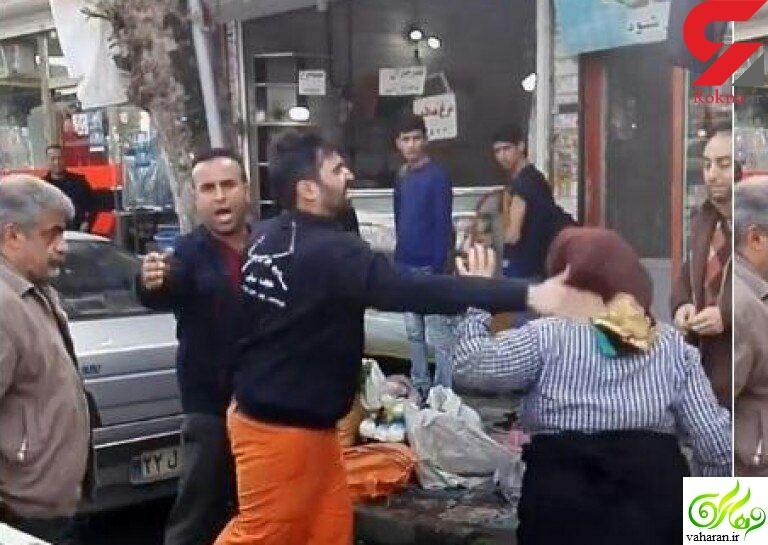 واکنش تند هنرمندان در اینستاگرام به سیلی زدن به زن دستفروش در فومن