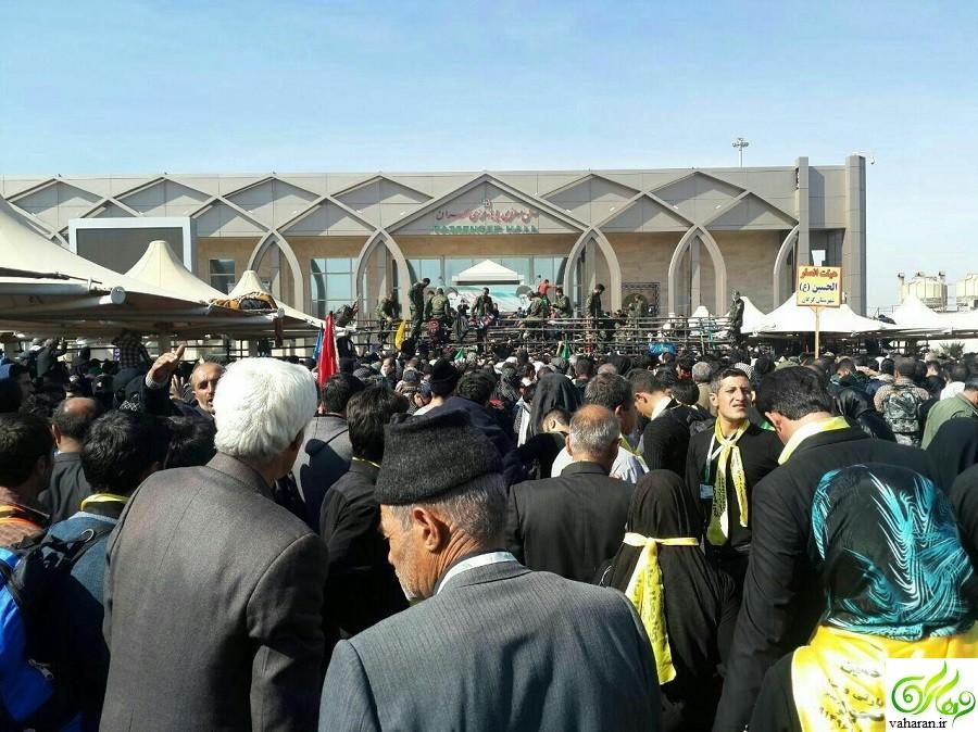 ورود زائران کربلا به ایران از مرز مهران آذر ۹۵