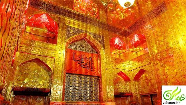 گزارش تصویری از عزاداری شهادت امام رضا (ع) در مشهد مقدس آذر 95