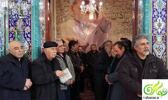 گزارش تصویری مراسم تشییع سلیم موذن زاده آذر 95