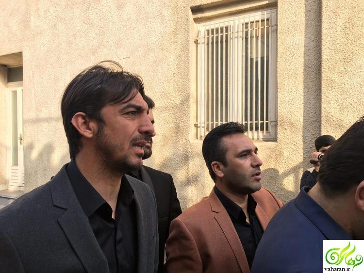 گزارش تصویری مراسم تشییع پیکر منصور پورحیدری آبان 95