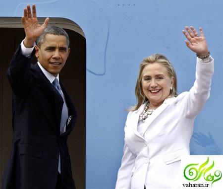 باراک اوباما و هیلاری کلینتون محبوب ترین زن و مرد سال 2016