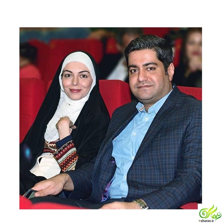 جدیدترین عکس دختر آزاده نامداری در کنار پدر و مادرش آذر ۹۵