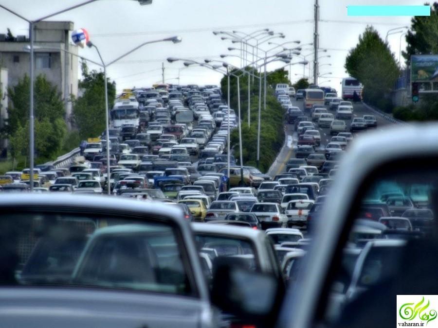 جزییات خبر سنگینی ترافیک تهران 18 آذر 95 پنج شنبه