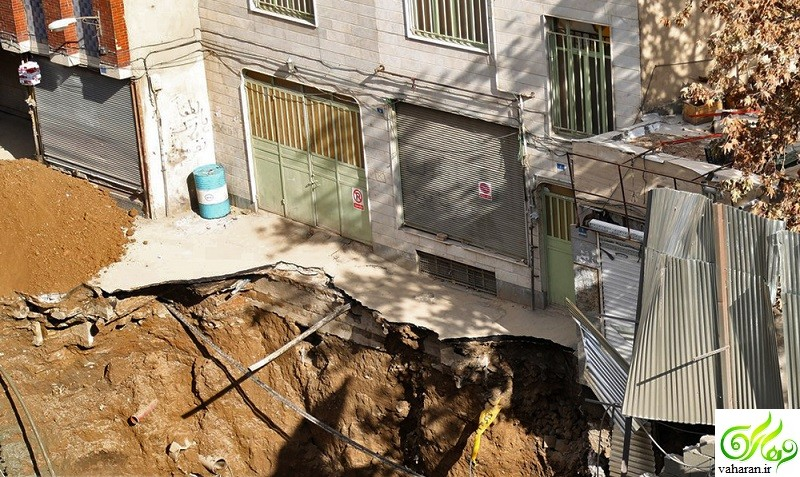 جزییات کامل خبر نشست زمین و ریزش مترو در مولوی + عکس