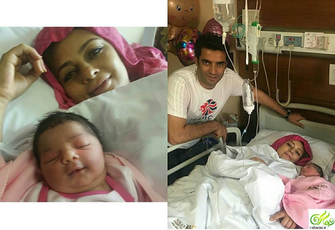 دختر یکتا ناصر به دنیا آمد + عکس و اسم دخترش