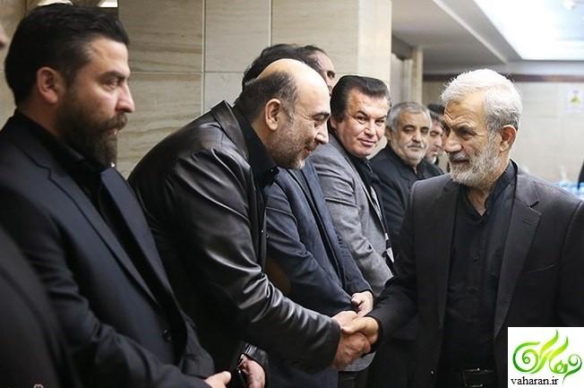 درگذشت پدر حسین رضازاده + عکس های مراسم تشییع