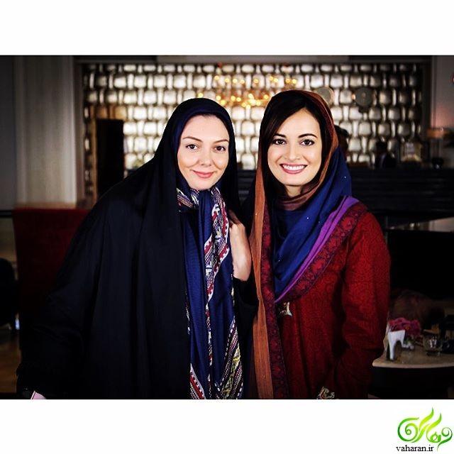 دیا میرزا در برنامه آبان آزاده نامداری + عکس