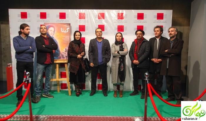 عکس های اکران گیتا با حضور بازیگران و هنرمندان