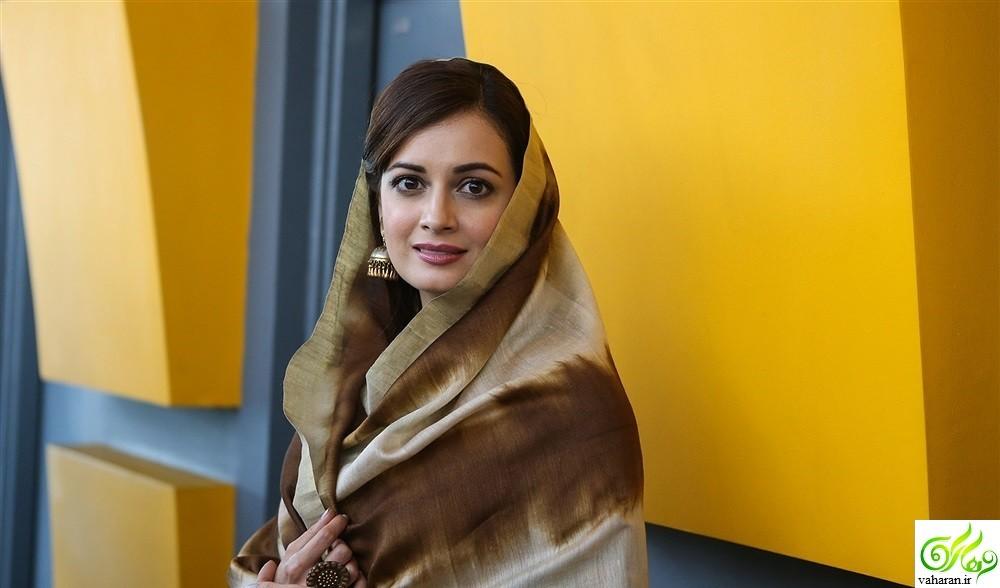 عکس های جدید دیا میرزا در ایران دی ۹۵