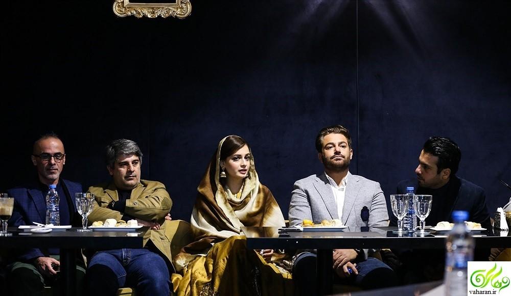 عکس های محمدرضا گلزار و دیا میرزا در ایران و حضورشان در نشست سلام بمبئی + فیلم