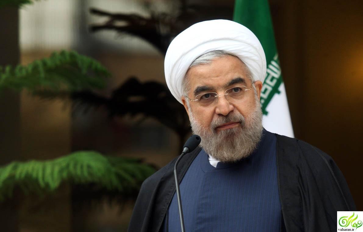 گفتگوی تلویزیونی حسن روحانی یکشنبه ۱۲ دی ۹۵ شبکه اول سیما