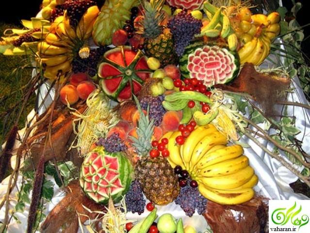 مدل میوه آرایی شب یلدا 95