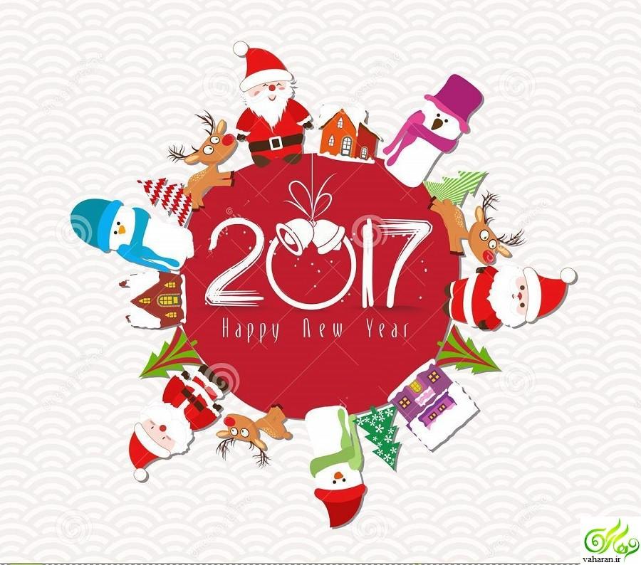 کارت پستال کریسمس 2017
