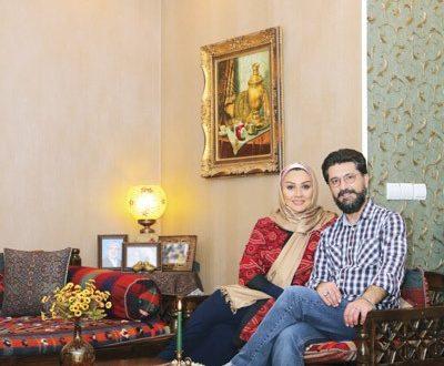 گفتگو با امیرحسین مدرس و همسر دومش + عکسهایی زیبا از منزلشان