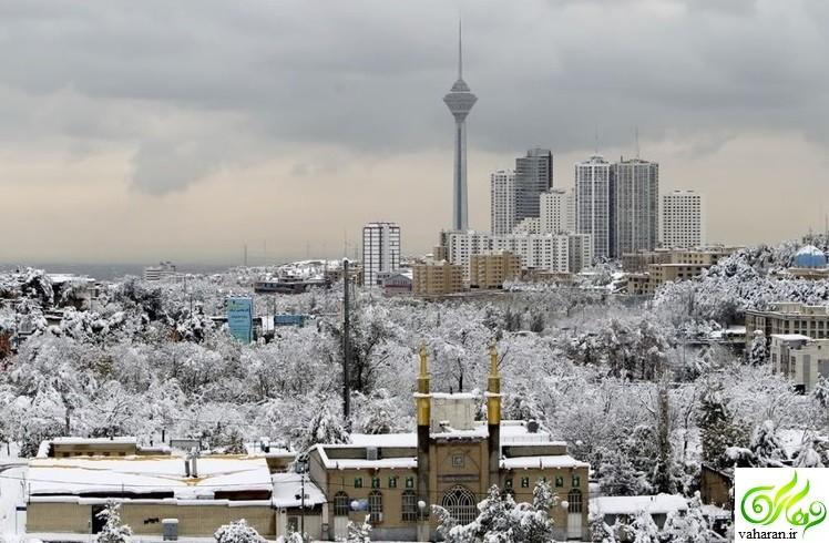 اخبار آب و هواشناسی بهمن 95 ؛ تداوم بارش برف و باران در این استان ها