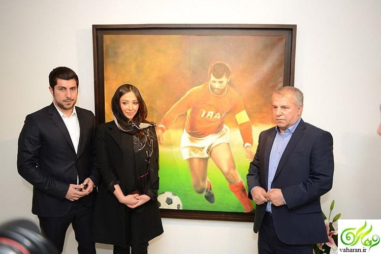 ازدواج اشکان خطیبی با عروس سابق علی پروین + عکس همسرش